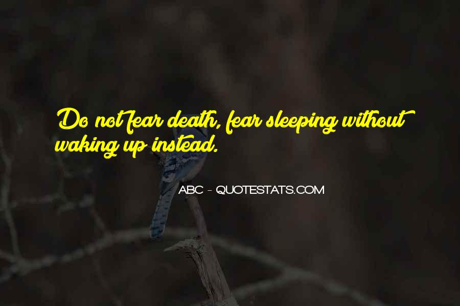 Quotes About Not Sleeping #98501