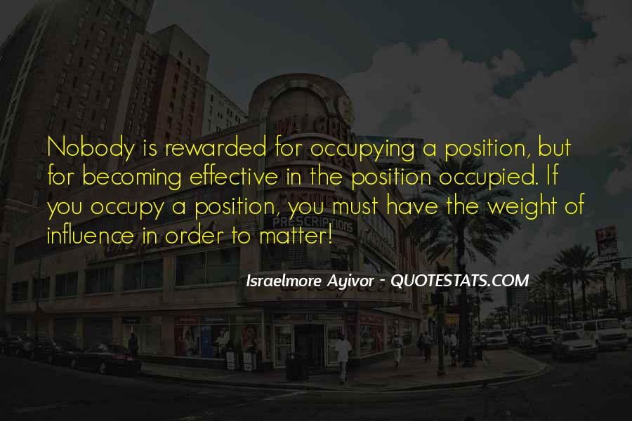 Quotes About Positions #103119