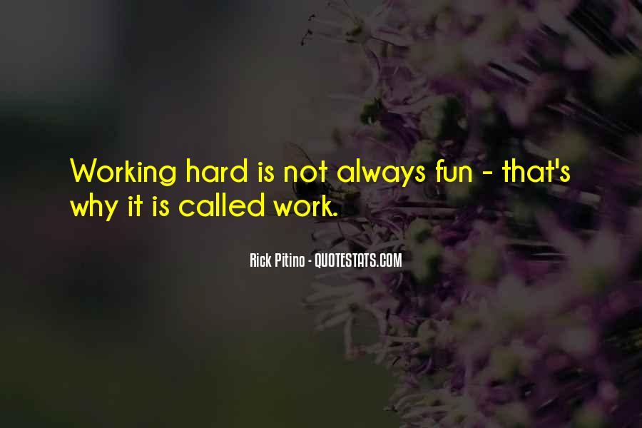 Quotes About Fun And Working Hard #220054