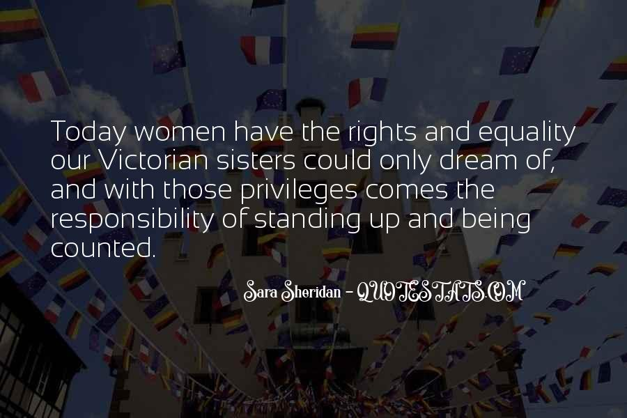 Quotes About Women's Voting Rights #1542834
