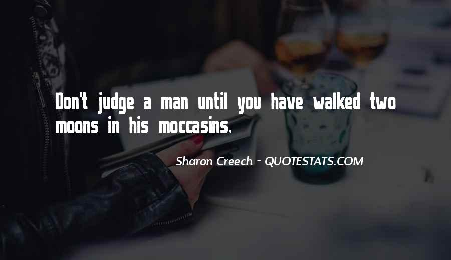 Quotes About Moccasins #566816