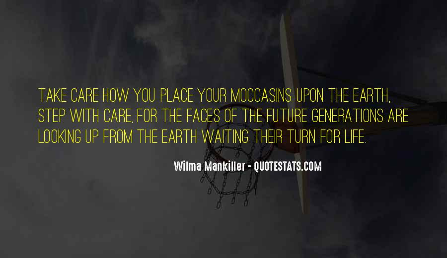 Quotes About Moccasins #833781