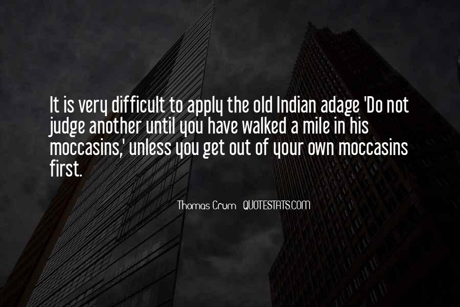 Quotes About Moccasins #982074