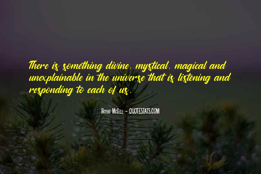 Quotes About Listening To The Universe #1645954