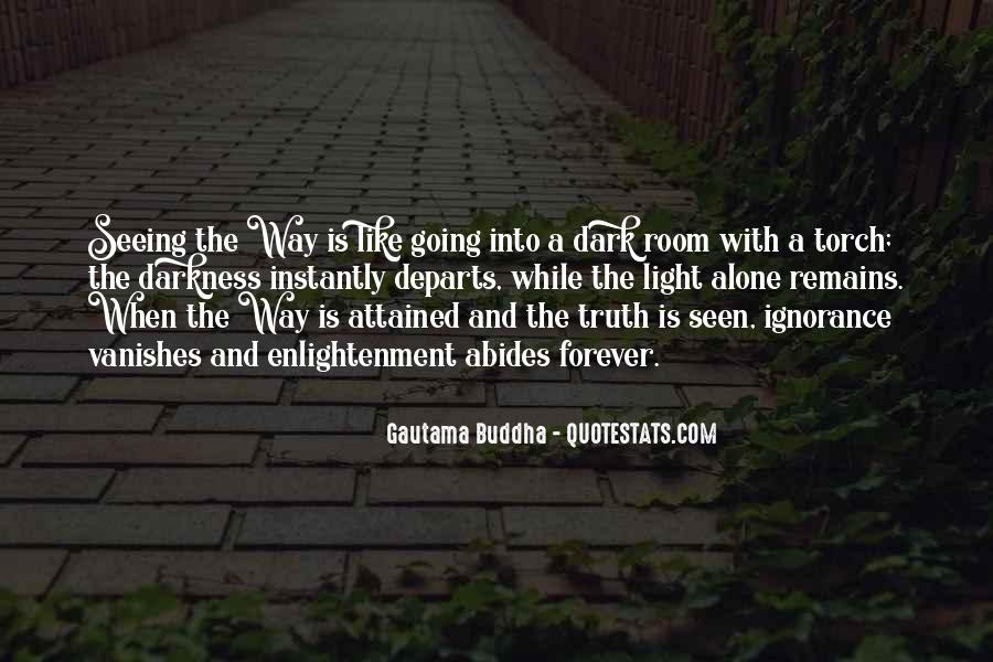 Quotes About Seeing Light In Darkness #428142
