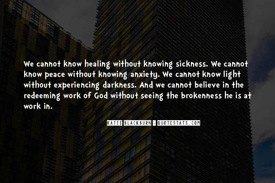Quotes About Seeing Light In Darkness #967690