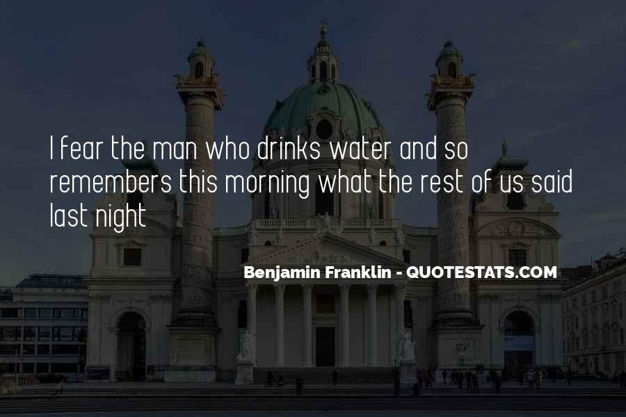 Quotes About Beer Benjamin Franklin #1304956