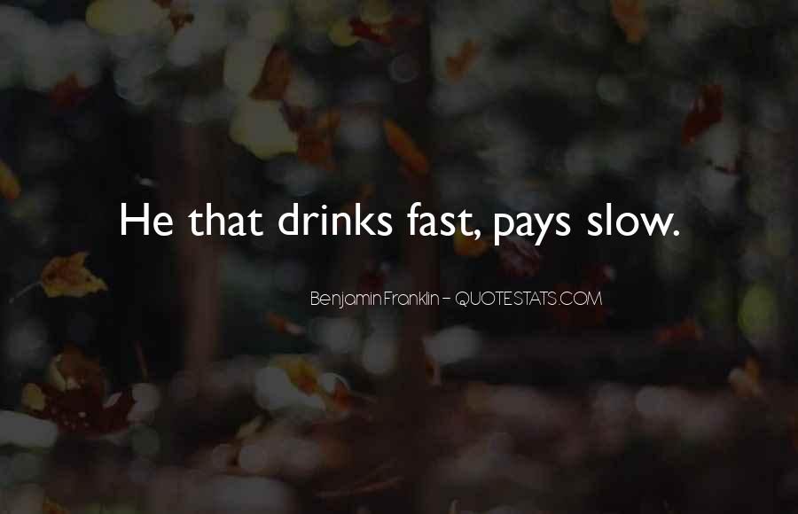 Quotes About Beer Benjamin Franklin #1547396