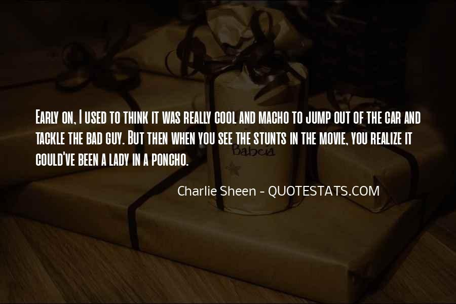 Quotes About Macho #144099