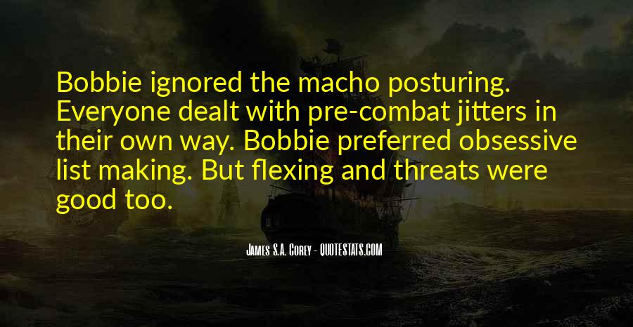 Quotes About Macho #789168
