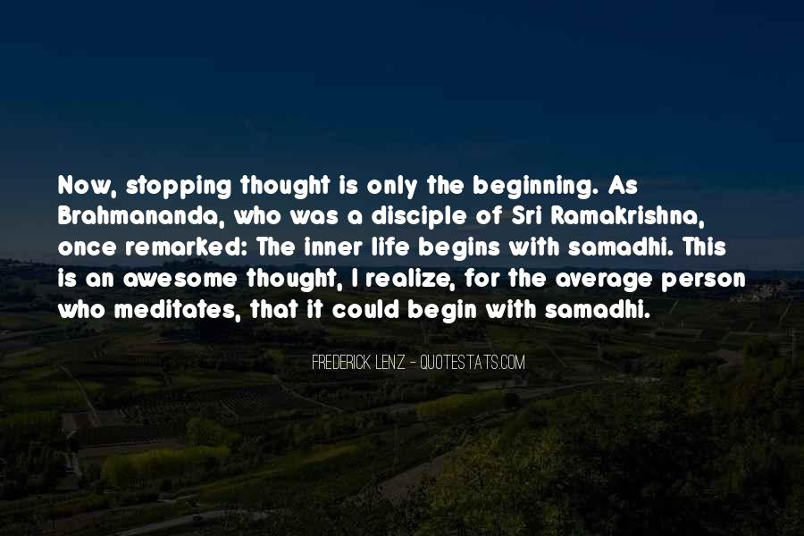 Quotes About Stopping In Life #1783330