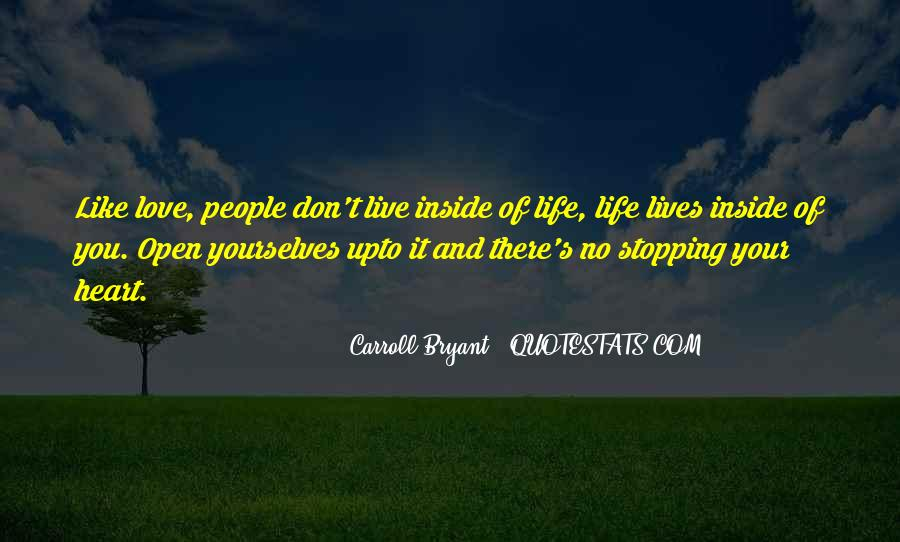 Quotes About Stopping In Life #79531