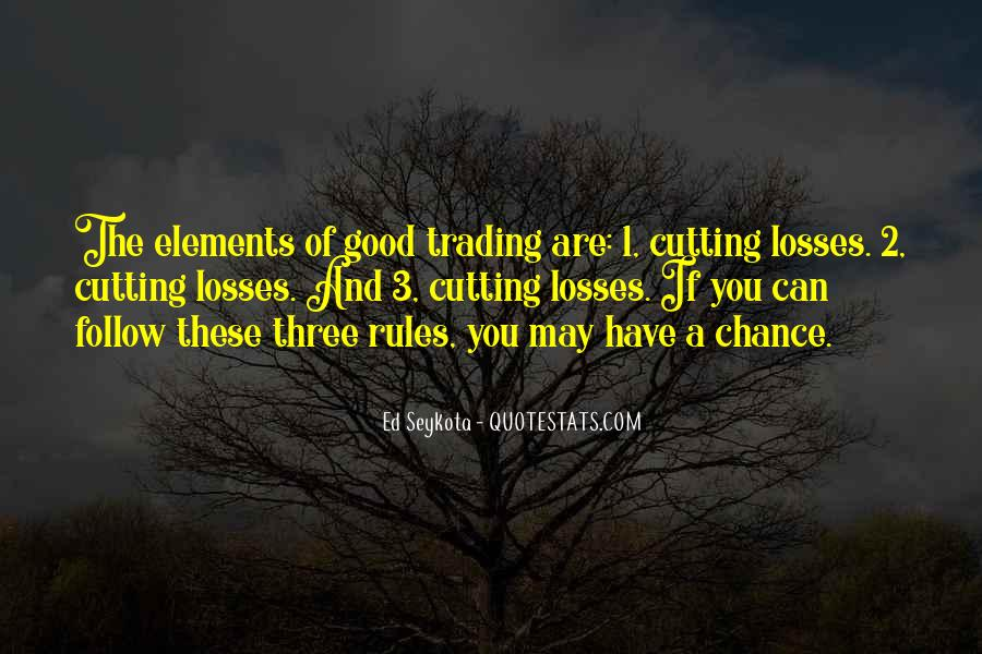 Quotes About Cutting Losses #1518360