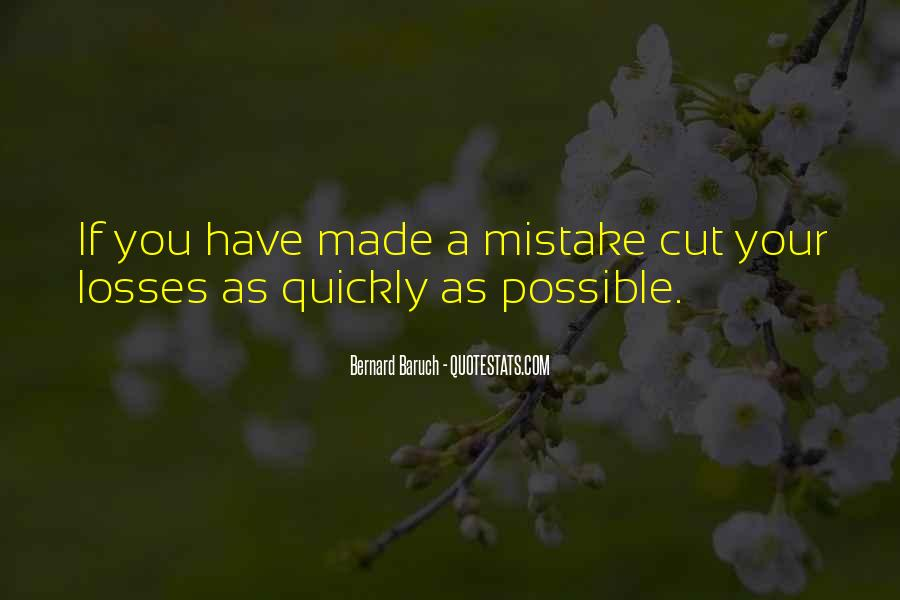 Quotes About Cutting Losses #1672106