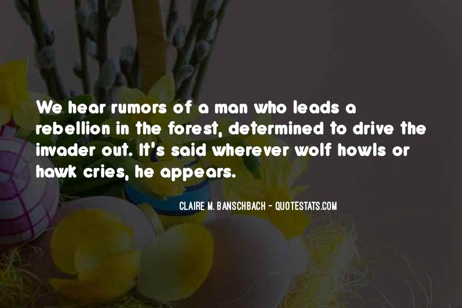 Quotes About Wolf Howls #1553512