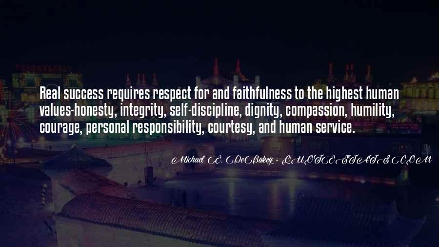 Quotes About Respect And Responsibility #1469265