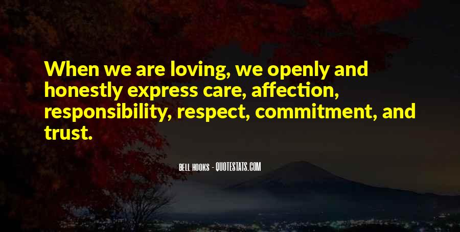 Quotes About Respect And Responsibility #1537114