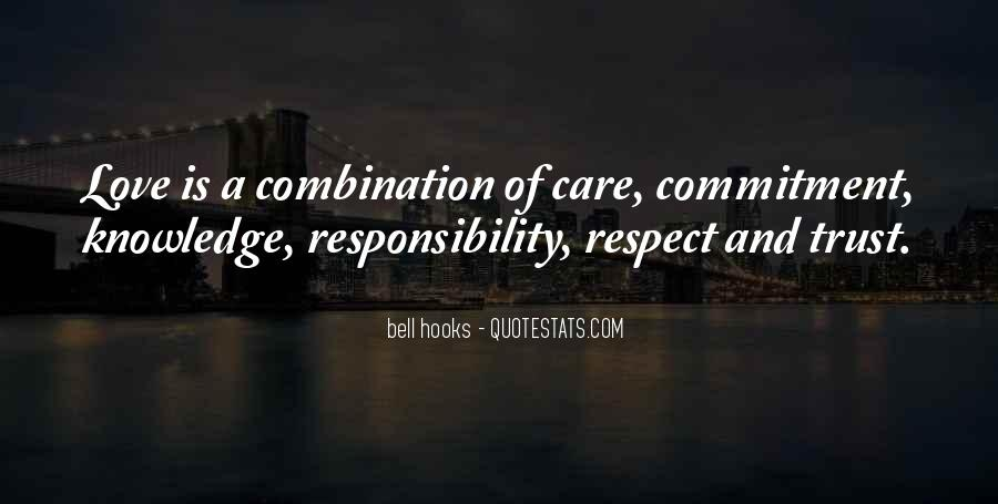 Quotes About Respect And Responsibility #727993
