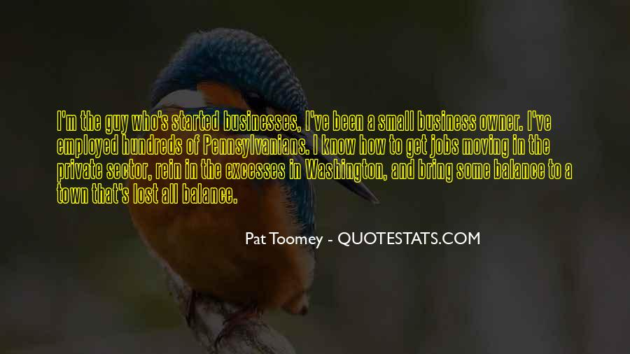 Quotes About Small Town Businesses #173616