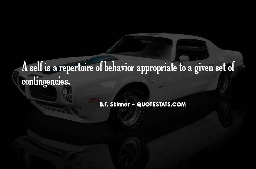 Quotes About Appropriate Behavior #1642750