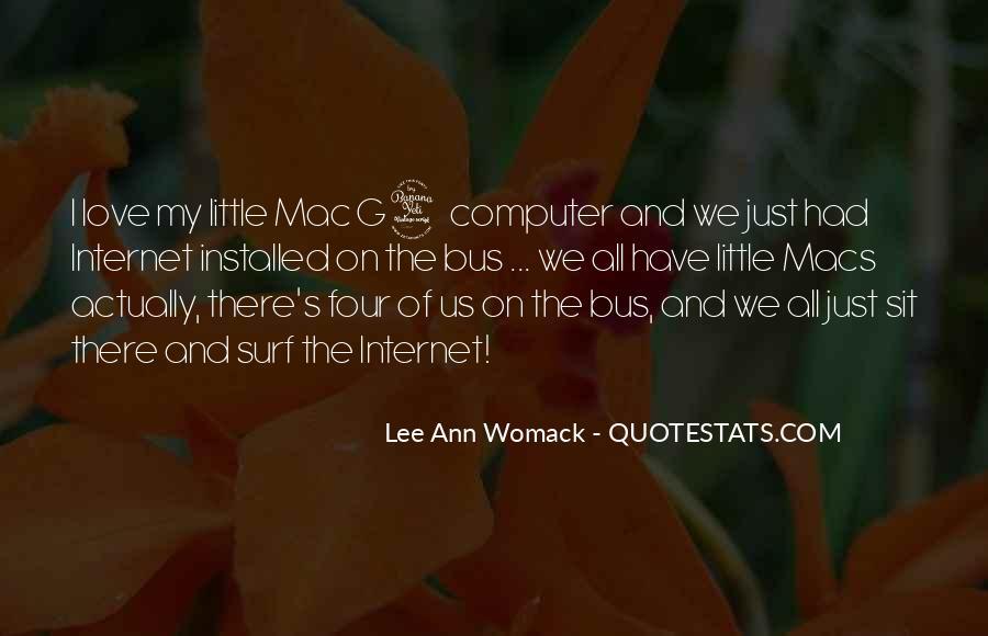 Quotes About Big Macs #1686702