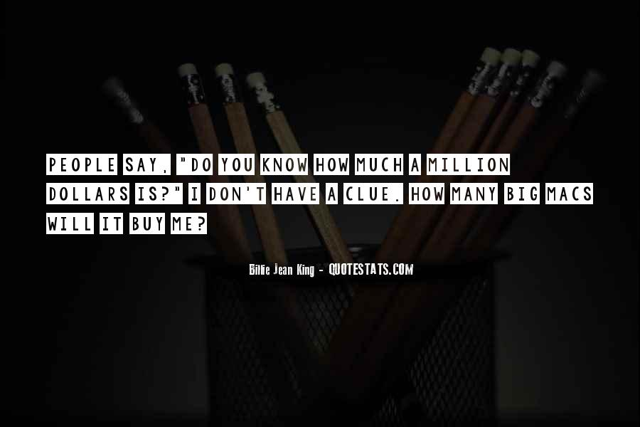 Quotes About Big Macs #55700