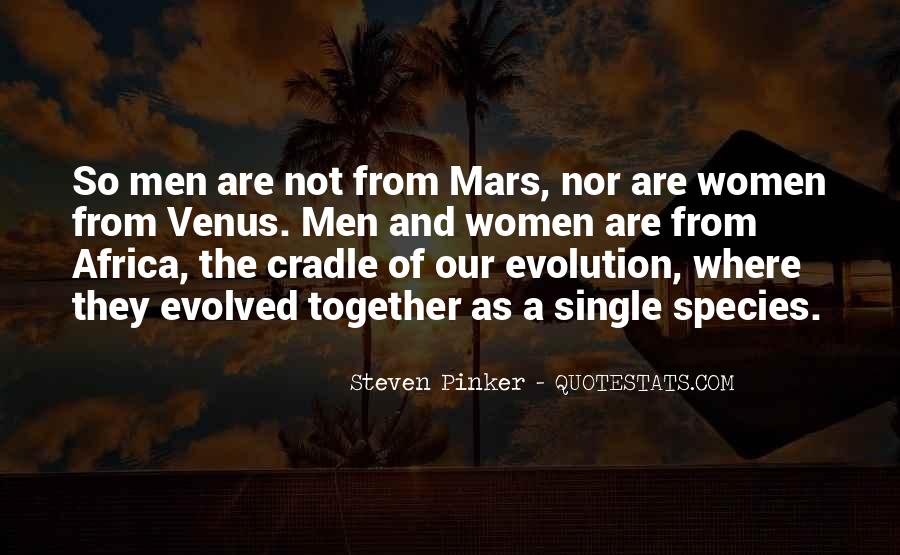 Quotes About Mars And Venus #1745690