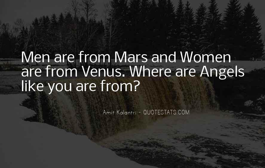 Quotes About Mars And Venus #687024