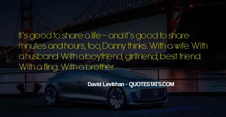 Quotes About Having A Good Girlfriend #511811