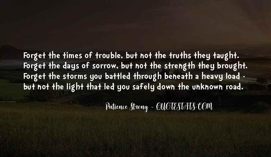 Quotes About Trouble Times #861214