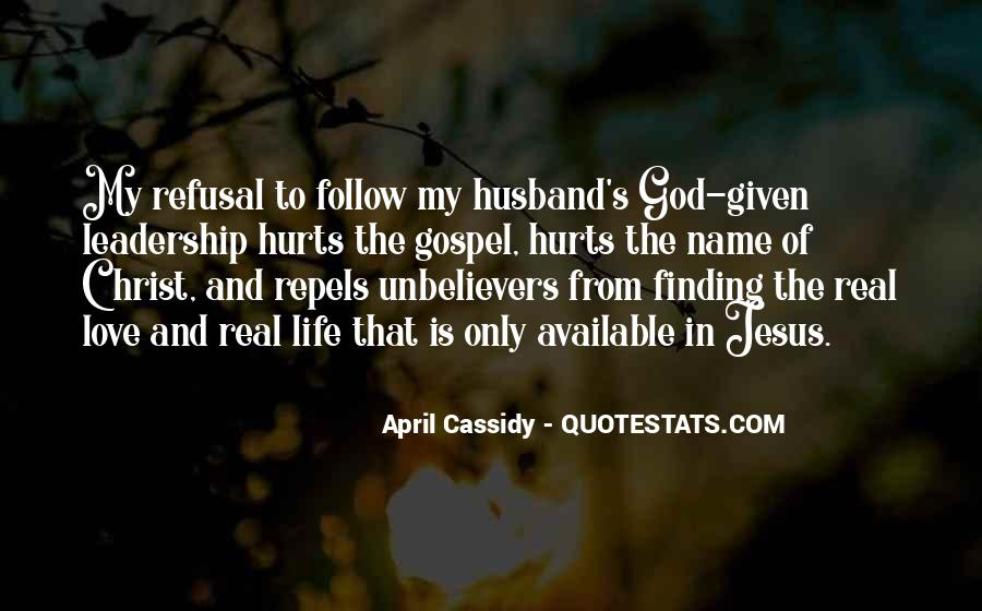 Quotes About Love From Jesus #1168677