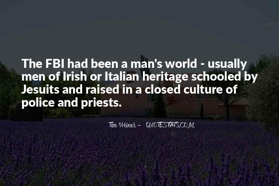 Quotes About Irish Heritage #1789902