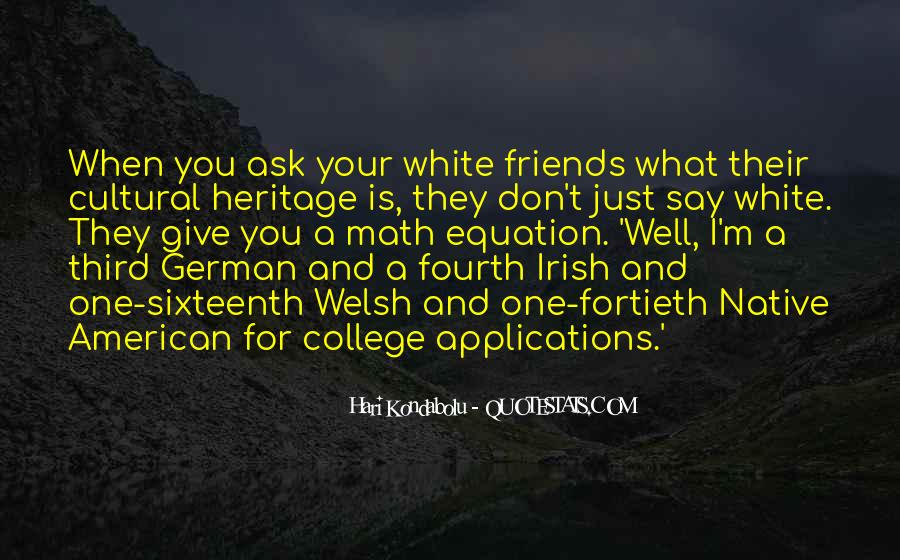 Quotes About Irish Heritage #445905