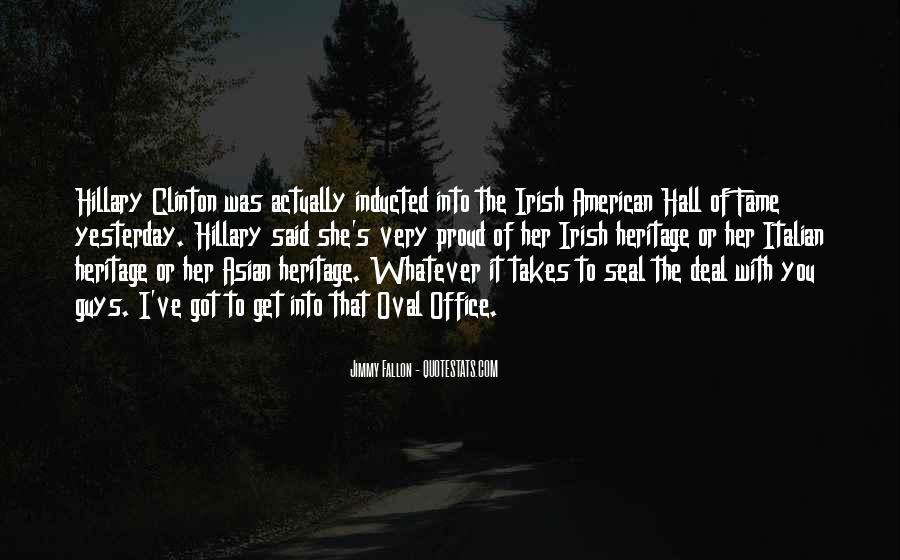 Quotes About Irish Heritage #634108
