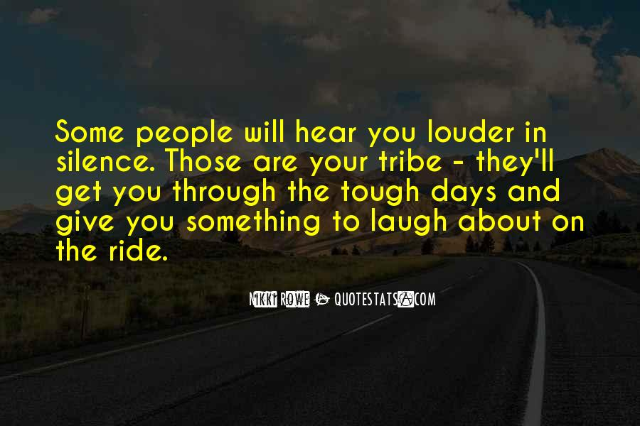 Quotes About Tough Life Lessons #1747604
