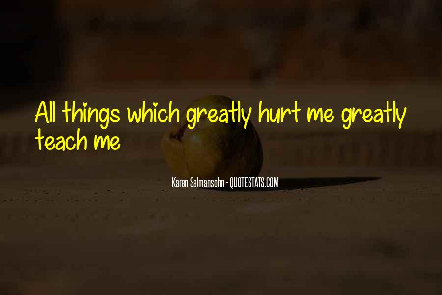 Quotes About Tough Life Lessons #266800