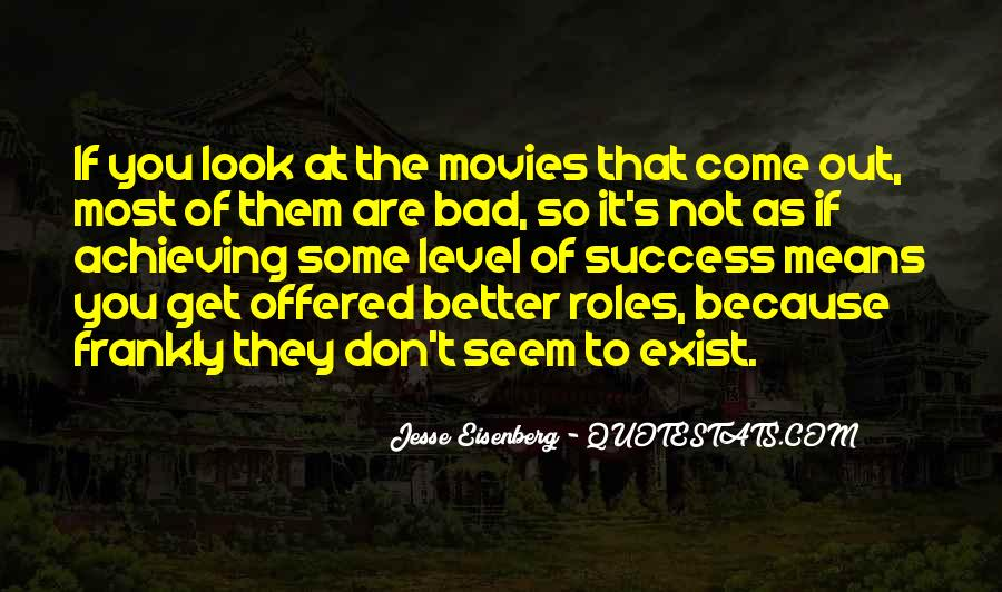 Quotes About Success From Movies #230608