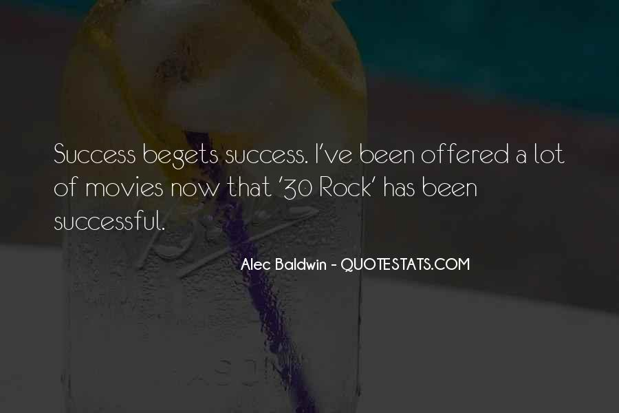 Quotes About Success From Movies #325969
