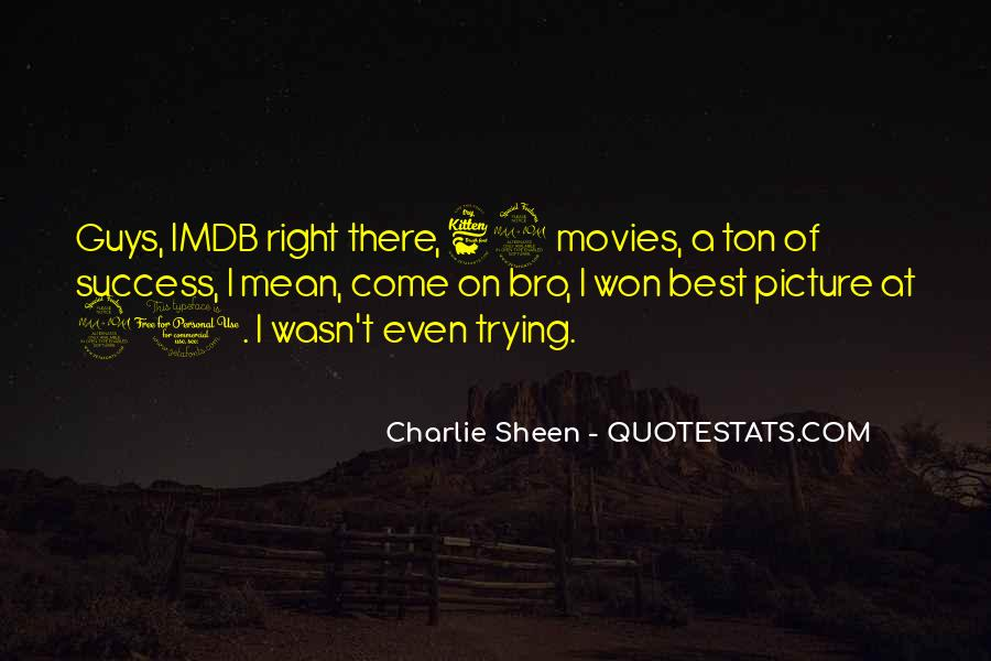 Quotes About Success From Movies #908454