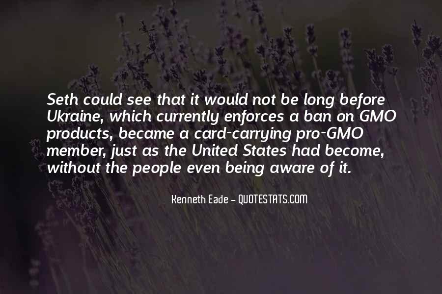 Quotes About Genetically Modified Food #262069