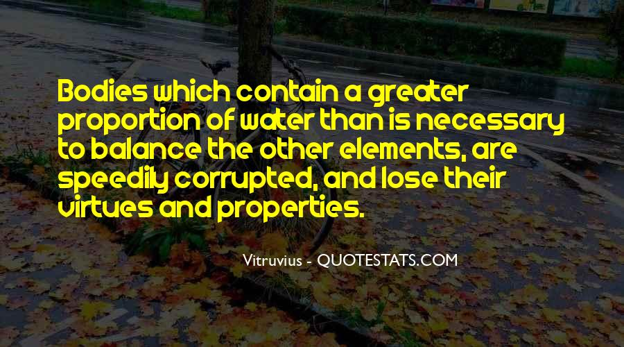 Quotes About Water Properties #913367
