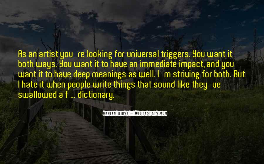 Quotes About Looking Deep Within #240240