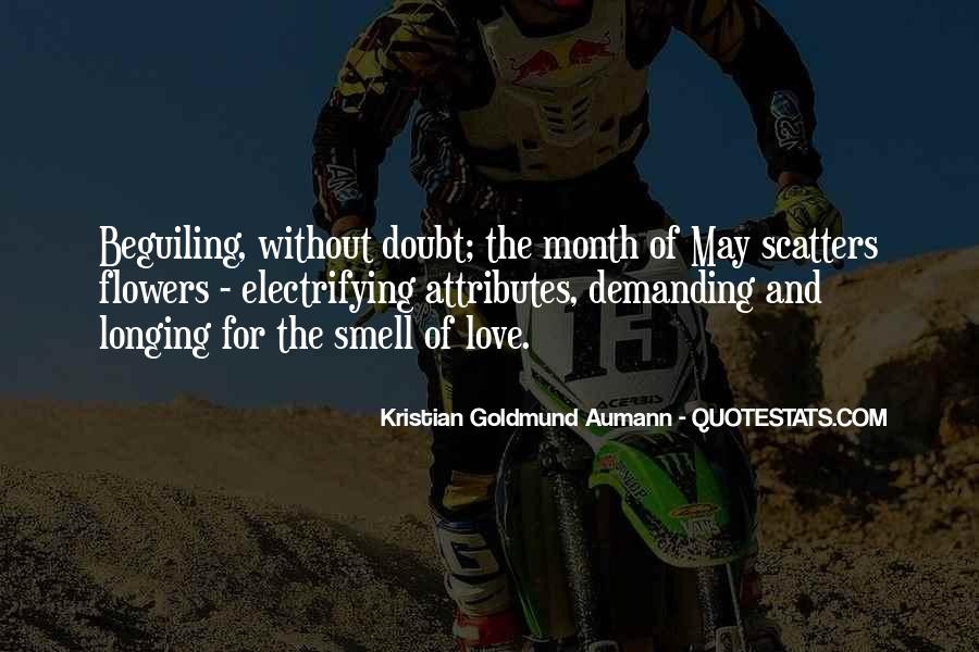 Quotes About Month Of Love #1835768