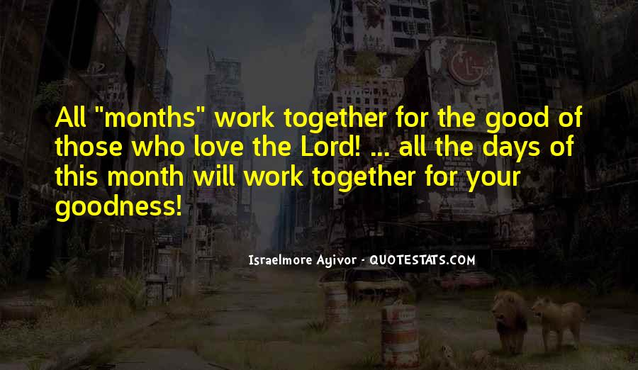 Quotes About Month Of Love #674799