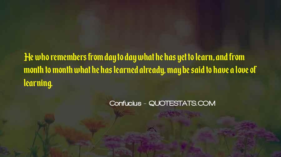 Quotes About Month Of Love #955731