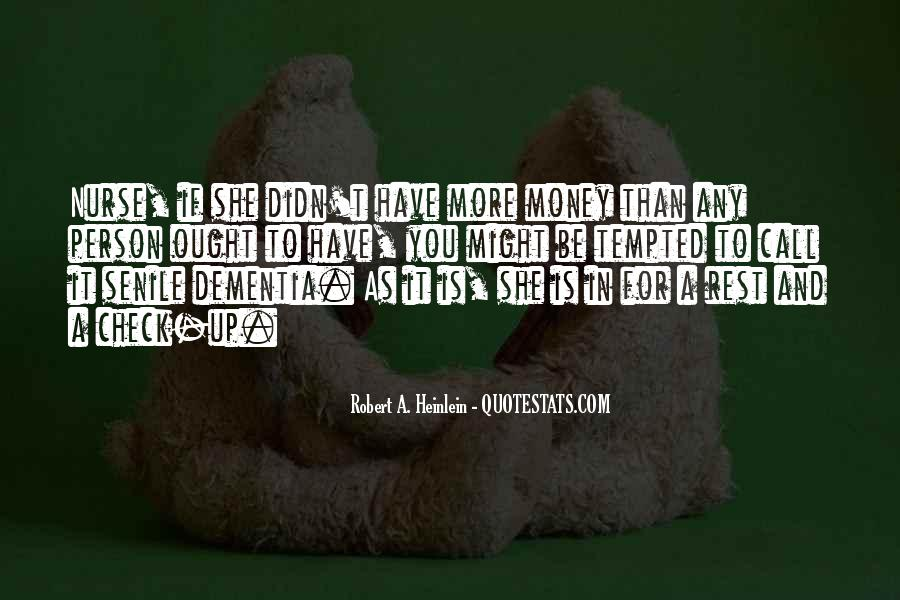 Quotes About More Money #29315