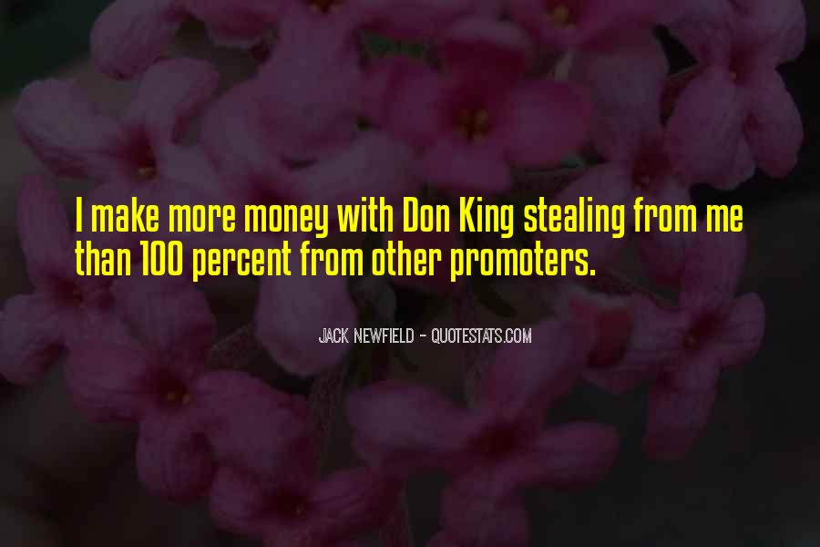 Quotes About More Money #63834