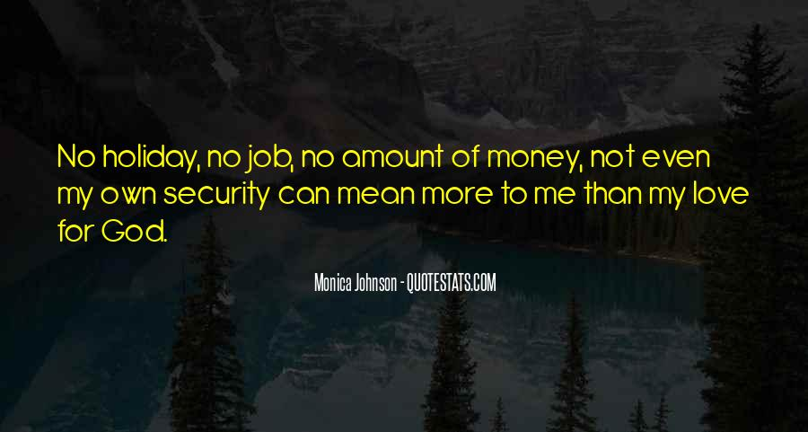 Quotes About More Money #64360