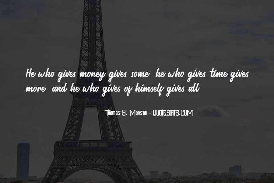 Quotes About More Money #72507