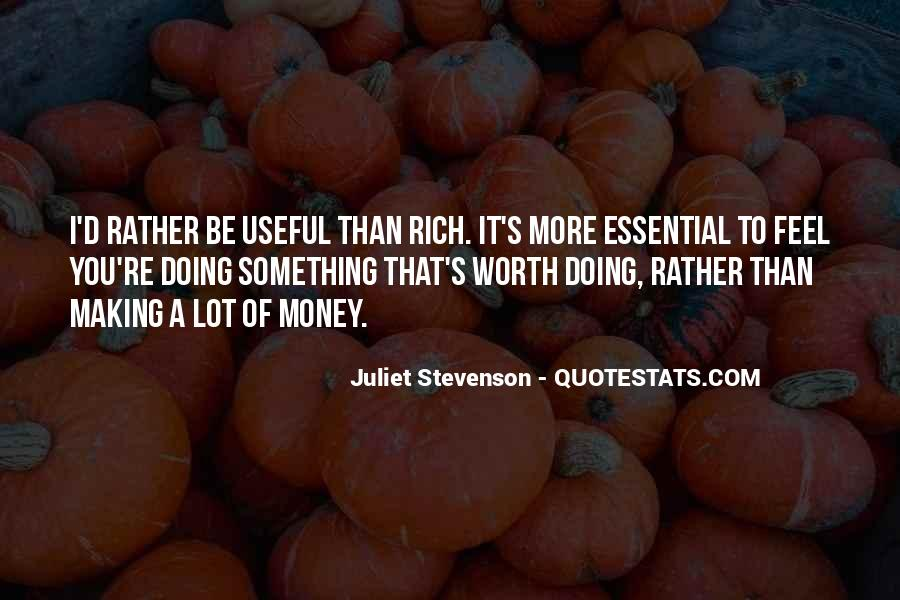Quotes About More Money #87369